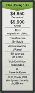 Hosting 1GB