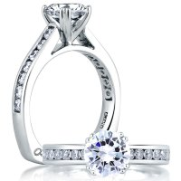 White Gold Engagement Rings for Every Bride