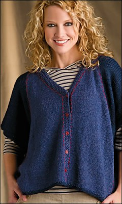 Intarsia Delight by Galina Carroll, Creative Knitting Spring 2013