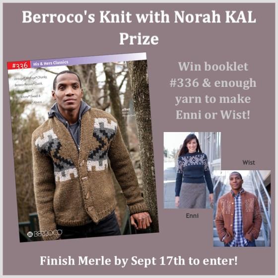 Knit with Norah KAL Prize