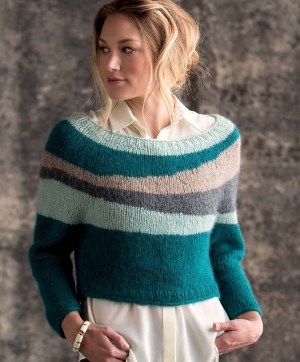 Burren Pullover by Alexis Winslow