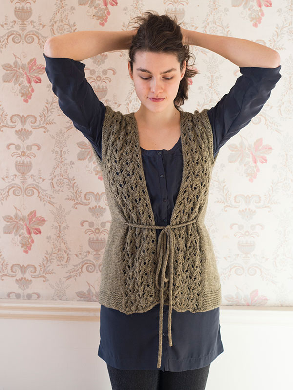 Hoehne Vest Courtney Spainhower Berroco Ultra Alpaca Portfolio Volume 2