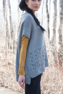 Camden Hills Poncho by Elizabeth Smith