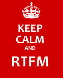 Rethinking RTFM | Leading Technical Communication