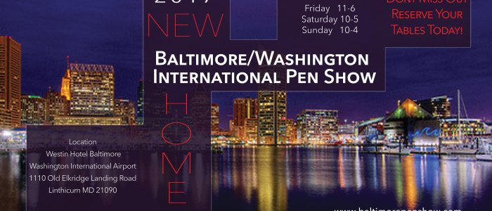 Baltimore Washington International Pen Show