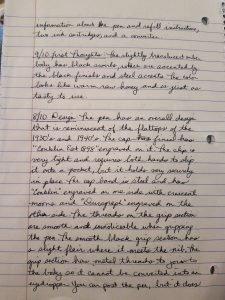 Conklin Duragraph Amber Fountain Pen