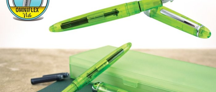Monteverde Monza Jolly Green Fountain Pen Review