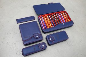 Esterbrook Nook Navy Pen Case