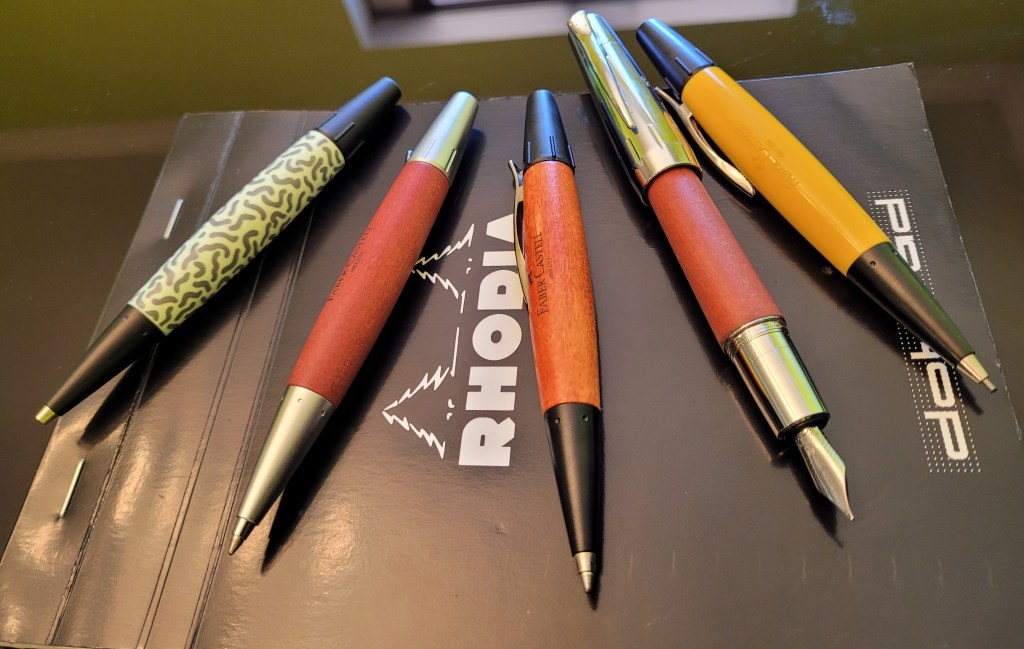 Faber-Castell E-Motion Pen Collection
