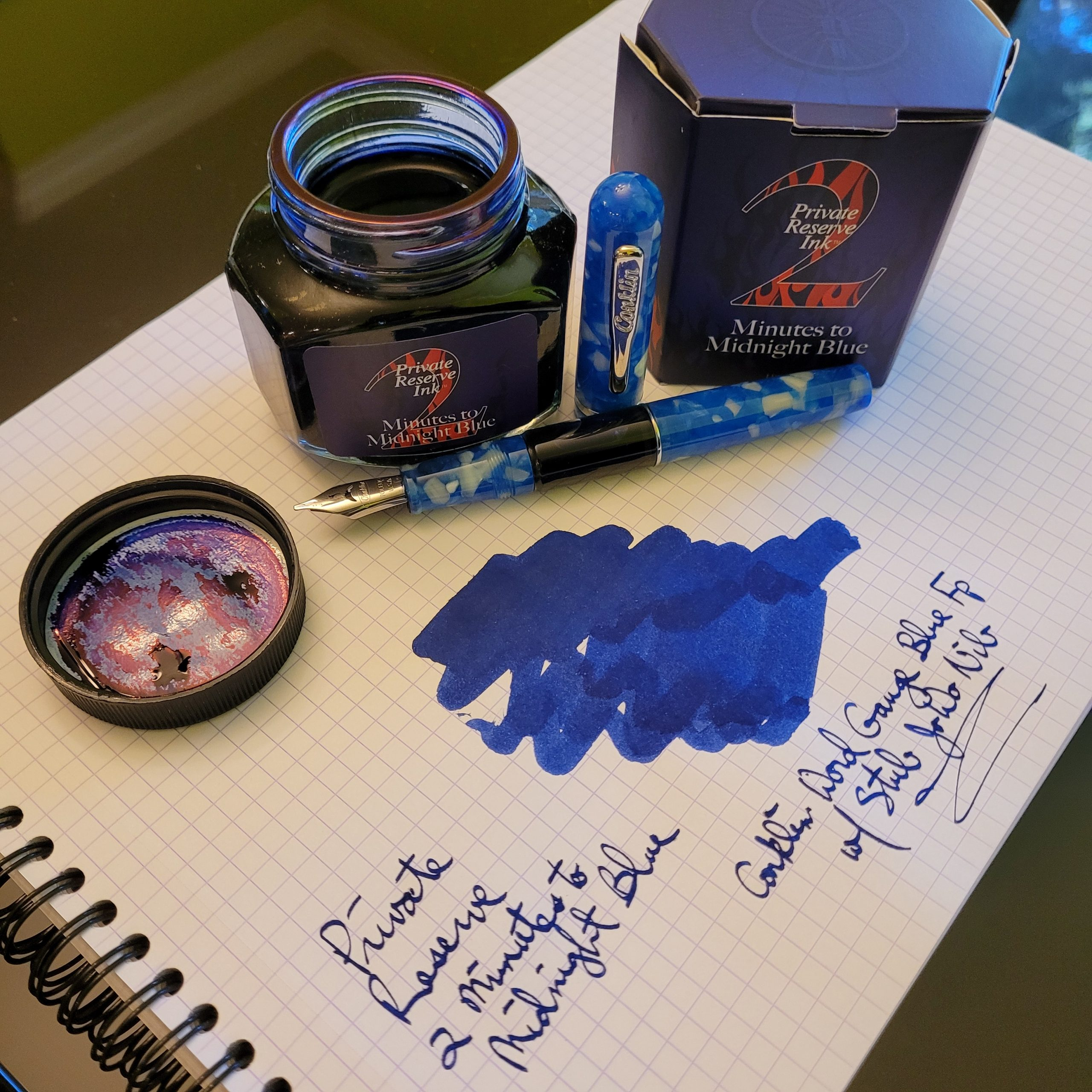 Private Reserve 2 Minutes To Midnight Blue Ink