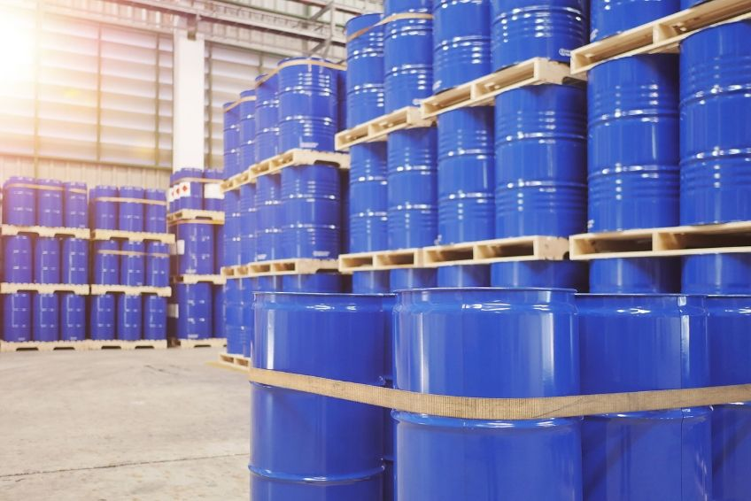 Most Common Materials Stored in Drum Containers