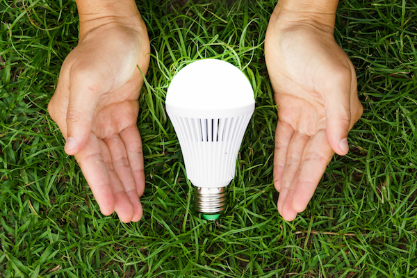 Environmentally friendly lighting for your health and well-being