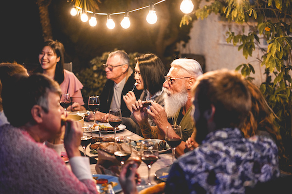 The right outdoor lighting can turn gatherings into special occasions