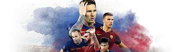 CL FC Barcelona vs. AS Roma
