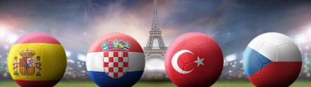 Fußball-EM 2016 Gruppe D - Spanien, Kroatien, Türkei, Tschechien