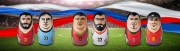 WM 2018 - Ägypten vs. Uruguay, Marokko vs. Iran, Portugal vs. Spanien