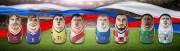 WM 2018 Spieltag Partien Header AUS-PER DEN-FRA NGA-ARG ISL-CRO