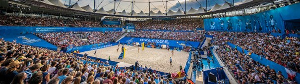 Beachvolleyball-WM Hamburg