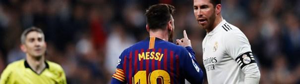 Barcelona gegen Real Madrid Blog Header