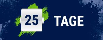 EURO-Countdown - 25 Tage
