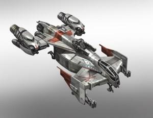 Le Cutlass est un vaisseau pour ceux qui ont une vocation de pirate