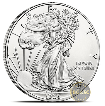 1986 American Silver Eagle