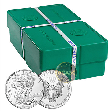 2017 silver eagle monster box