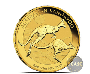 2018 1/4 Perth Mint Gold Kangaroo