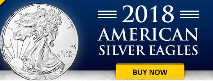 2018 American Silver eagle banner