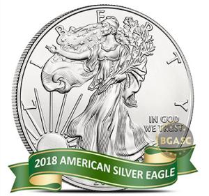 2018 American silver eagle pre order front