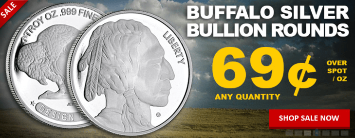 Buffalo silver round sale banner