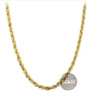 Gold chain from BGASC