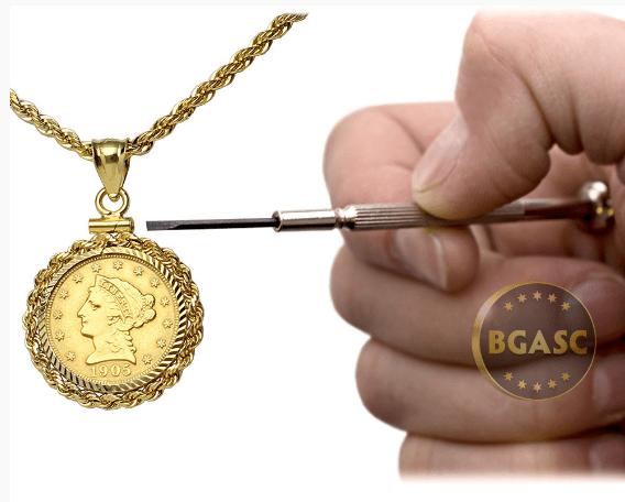 Jewelers Bezel hand image