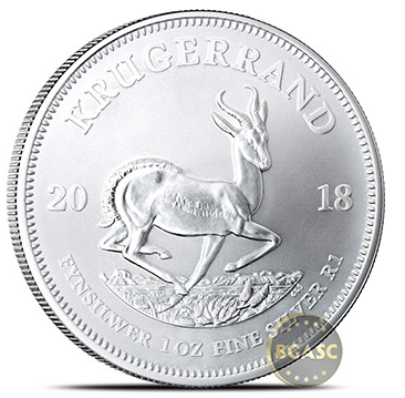 South African Mint Releases New Silver Krugerrand Bullion