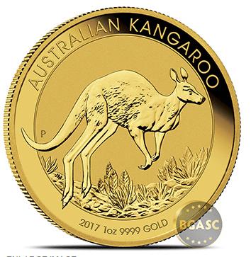 bgasc Australian gold Kangaroo coin