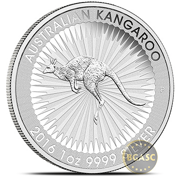 Perth Mint Australian silver kangaroo image