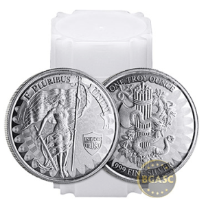 silver liberty and unity round roll