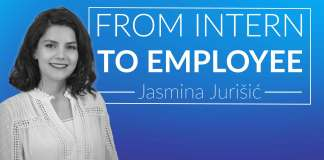 From Intern to Employee - Jasmina Jurišić