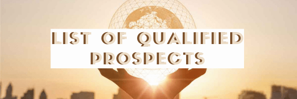 asses your list of qualified prospects