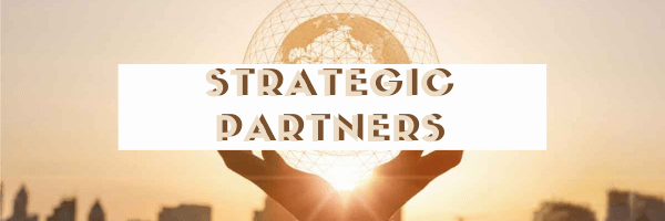 work with strategic partners