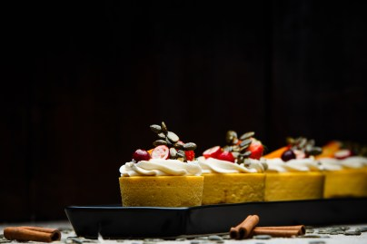 """""""Pastry making is a delicate process and requires an eye for details, texture and flavour variation."""""""