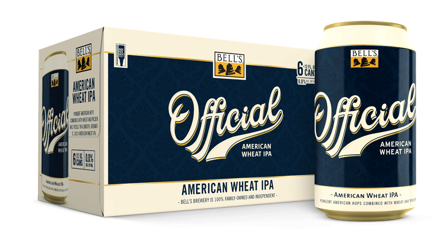 Official American Wheat IPA is a 6.4 percent alcohol by volume brew that, according to the popular West Michigan brewery, brings pungent American hops and wheat malt together.