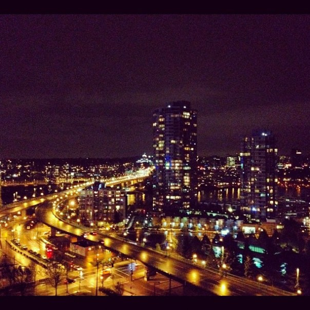 Good night #vancouver! - from Instagram