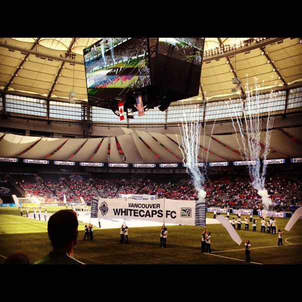 Let's go #WhiteCaps! @whitecapsfc vs. Seattle #soundersfc - from Instagram
