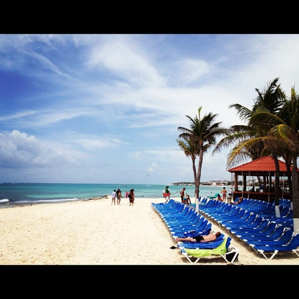 This is where I belong to be! #playadelcarmen #mexico - from Instagram