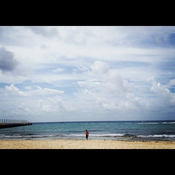 Sunny & warm breeze! #playadelcarmen #mexico - from Instagram