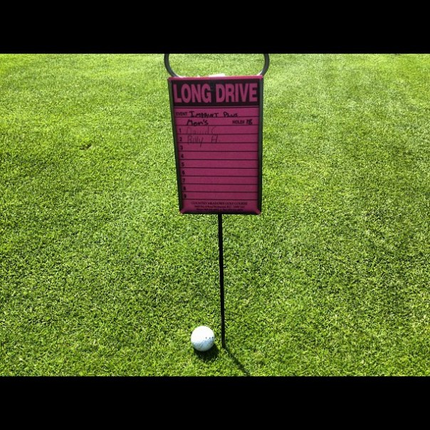 Oh yeah the longest drive is mine!! - from Instagram