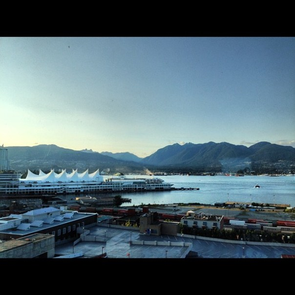 Good evening #Vancouver! - from Instagram