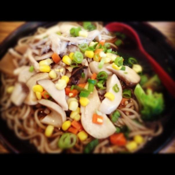 Holy über #mushroom noodles! - from Instagram