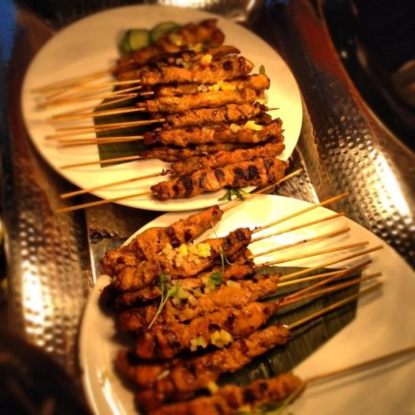 Grilled chicken skewers #foodtalksvan - from Instagram